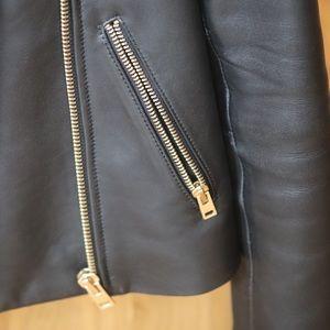 J. Crew Jackets & Coats - Barely Worn Black Leather Jacket, JCREW, XS/00